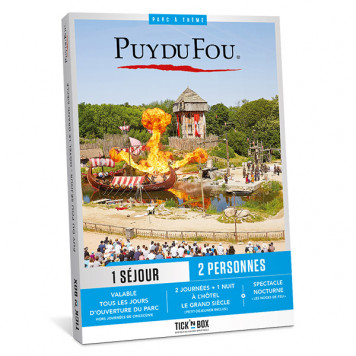 Coffret cadeau Puy du Fou Séjour - Le Grand Siècle