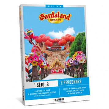 Coffret cadeau Gardaland Séjour