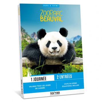 Coffret cadeau ZooParc de Beauval