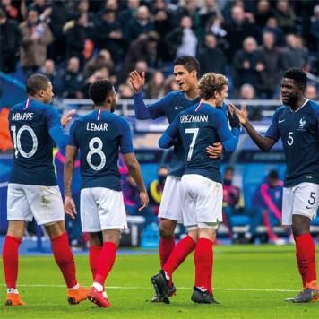 Coffret cadeau Équipe de France de Football
