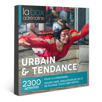 Coffret cadeau La Box Adrénaline Urbain & Tendance