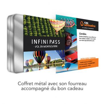 Coffret Infini Pass Vol en Montgolfière