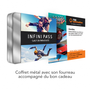 Coffret Infini Pass Saut en Parachute