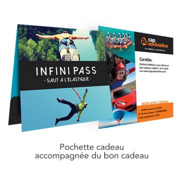 Pochette Infini Pass Saut à l'Élastique