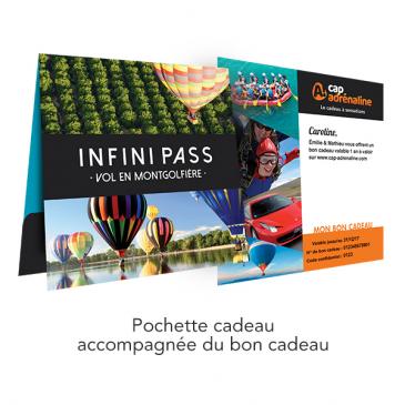 Pochette Infini Pass Vol en Montgolfière