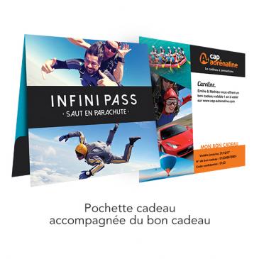 Pochette Infini Pass Saut en Parachute