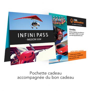 Pochette cadeau Infini Pass ULM Passion