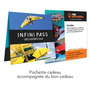 Pochette cadeau Infini Pass ULM Découverte