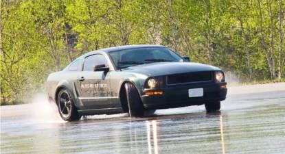 Pilotage Drift en Mustang Bullitt - Circuit de Mortefontaine