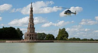 Baptême En Hélicoptère À Tours