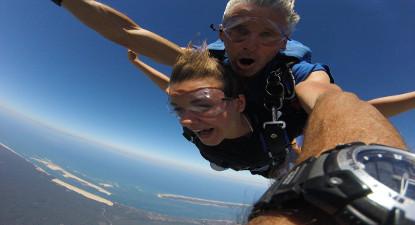 Saut en Parachute à Arcachon