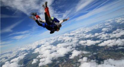 Saut en parachute Tandem à Niort
