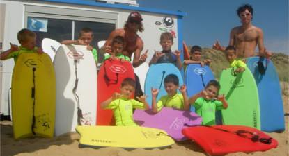 Cours de Surf près des Sables-d'Olonne