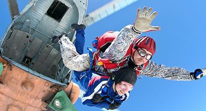 Sautez en parachute tandem à Courchevel