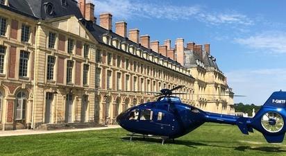 Baptême en Hélicoptère près de Paris - Survol des Châteaux de la vallée de Chevreuse