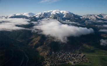 Vol en Montgolfière au dessus des Pyrenées-Orientales