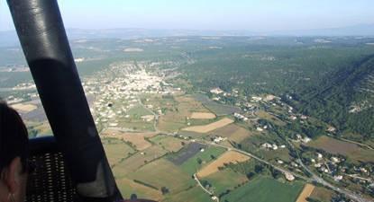 Vol en Montgolfière au dessus de Beaune