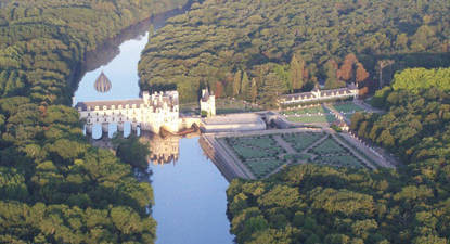 Vol en Montgolfière au Château de Chenonceau