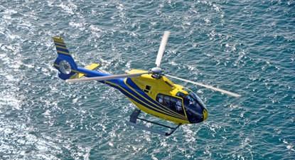 Baptême en hélicoptère - Survol des Falaises d'Étretat, le Havre ou Deauville