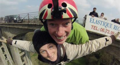 Saut à l'élastique et vidéo du saut près du Mans et de Paris