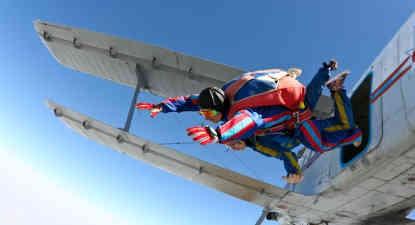 Saut Parachute Tandem Granville