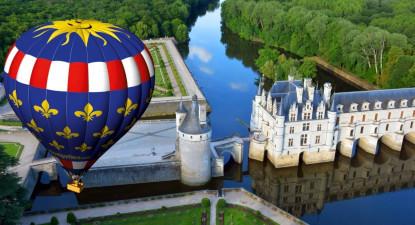Vol en Montgolfière et dégustation en Val de Loire