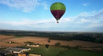 Vol en Montgolfière en Touraine à proximité de Tours