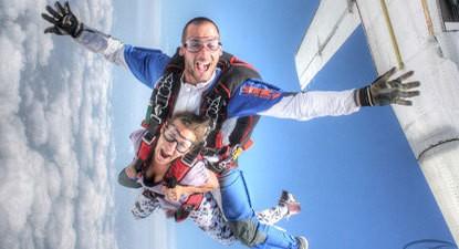 Saut en parachute à Castres