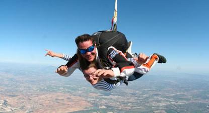 Saut en Parachute Tandem près de Montpellier