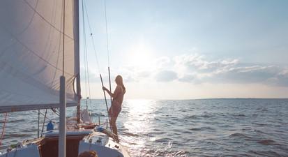 Sortie en bateau à Voile à La Rochelle