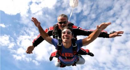 Saut en Parachute Tandem près de Montélimar et Valence