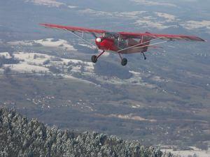 Stage d'initiation au pilotage d'avion léger près de Chambéry