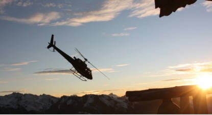 Vol en Hélicoptère Privatisé aux 3 Vallées