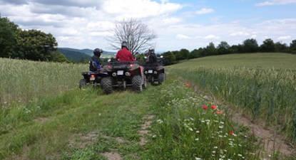 Randonnée en Quad à Avenas-Beaujolais