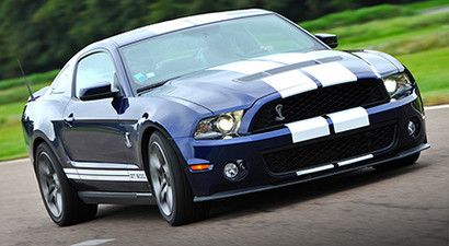 Pilotage d'une Ford Mustang Shelby GT 500 - Circuit de Folembray
