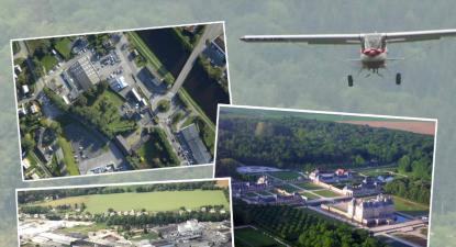 Initiation au pilotage d'avion ultra léger au dessus de Fontainebleau
