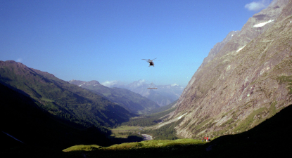 Baptême de l'air en hélicoptère en Aveyron près de Rodez
