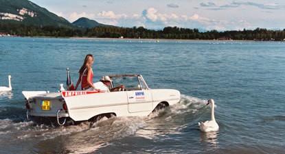 Découvrez la voiture Amphibie près de Lyon