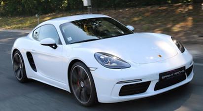 Pilotage en Porsche Cayman S -  Circuit d'essai de Montlhéry
