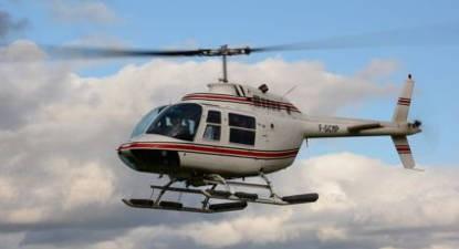 Vol Hélicoptère Bordeaux Bell 206