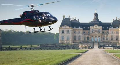 Les Châteaux de l'Essonne en hélicoptère