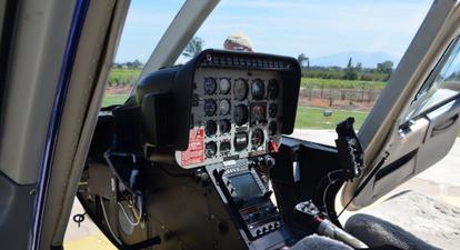Initiation au pilotage hélicoptère près de Melun