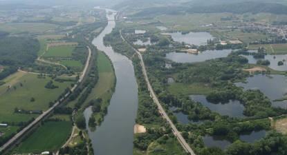 Baptême en ULM et survol du bassin de Longwy en Lorraine