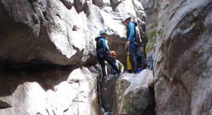 Canyoning dans le massif de la Chartreuse