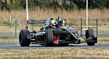 Baptême de Formule 1 Triplace - Circuit de Magny-Cours