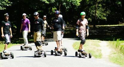 Balade en skate électrique tout terrain à proximité de Nantes