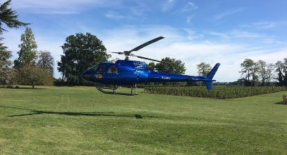 Baptême hélicoptère Lussac