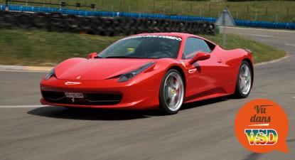 Stage de Pilotage en Ferrari F458 - Circuit de Trappes
