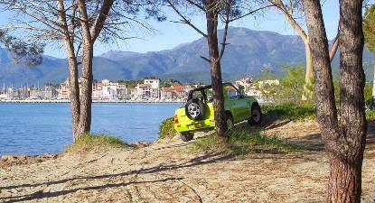 Louez un 4X4 à Bastia