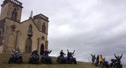 Randonnée en Quad en Auvergne à proximité de Clermont-Ferrand